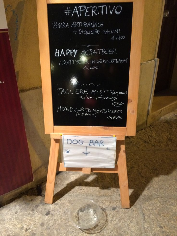 Dog bar. Alghero