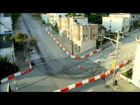 Ken Block Drifts San Francisco