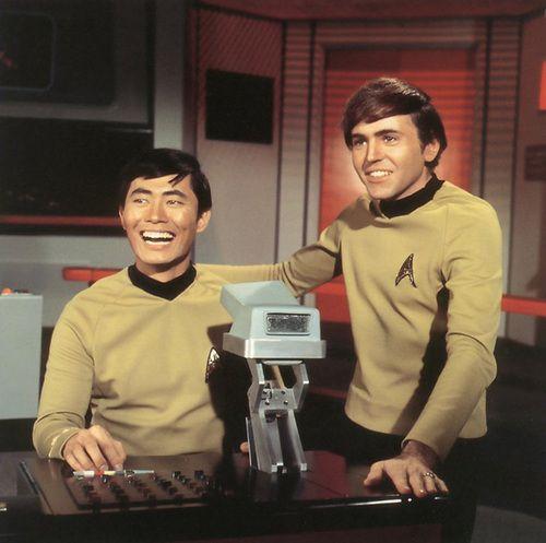 Star Trek ... Sulu and Chekov