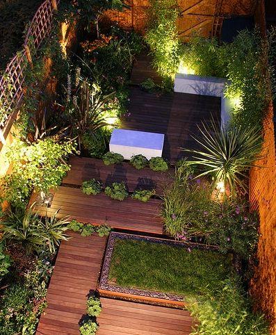 En mindre trädgård kan få djärva uterum – HOH