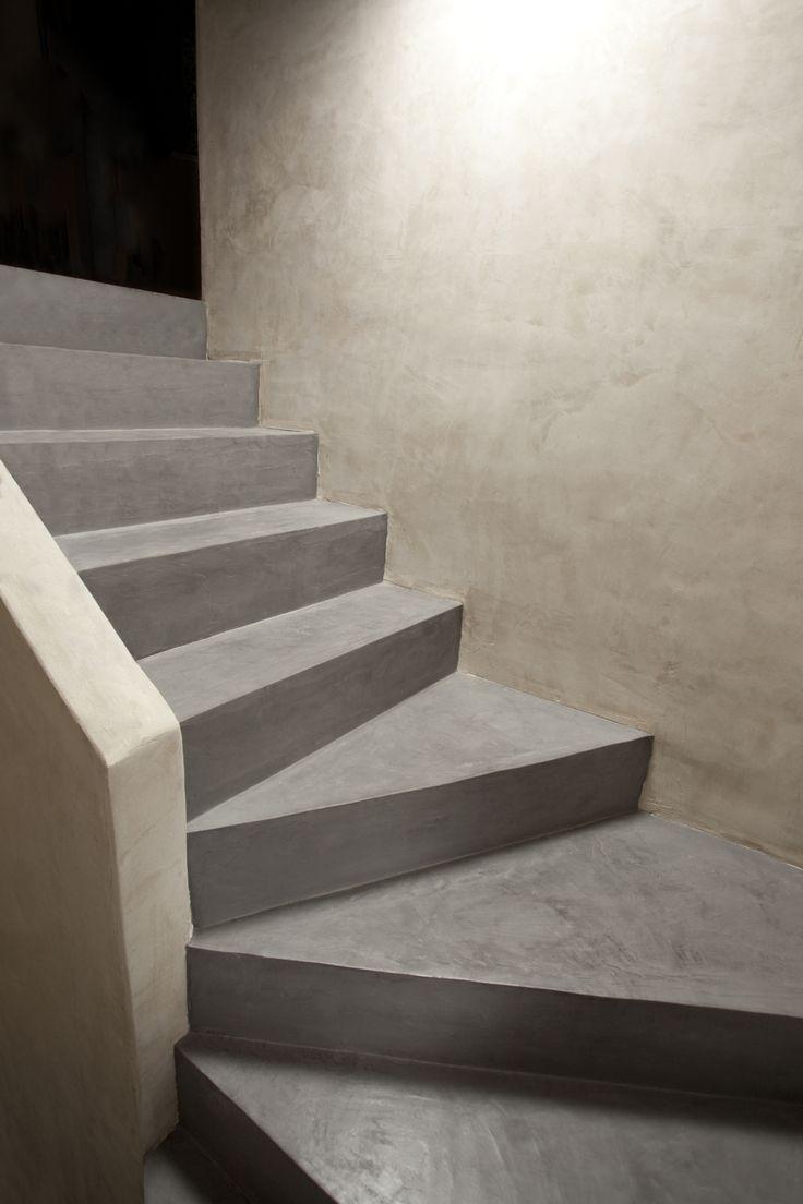 Stairs - Floor - Micro Concrete