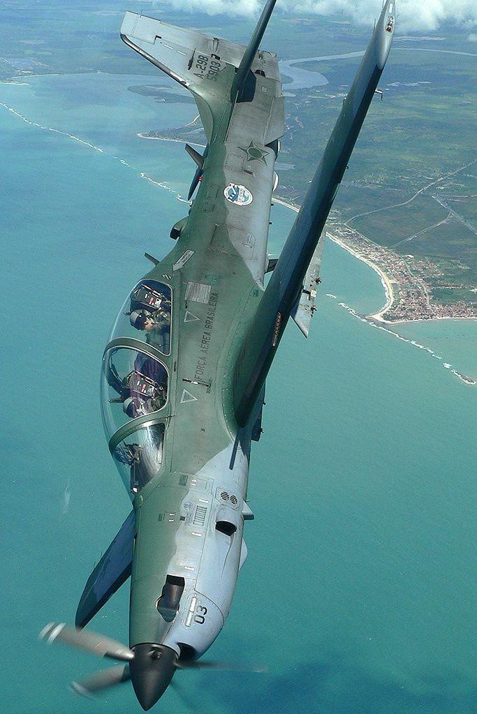 Tucano A-29B - Brazilian Air Force                                                                                                                                                                                 Mais