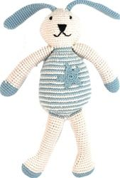 Pebble Organic Crocheted Bunnies, 25 cm $27.95