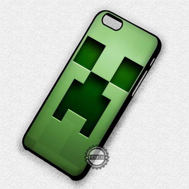 Pixel Creeper Minecraft - iPhone 7 6 Plus 5c 5s SE Cases & Covers #minecraft #creepers #green #iphonecase #phonecase #phonecover #iphone7case #iphone7 #iphone6case #iphone6 #iphone5 #iphone5case #iphone4 #iphone4case