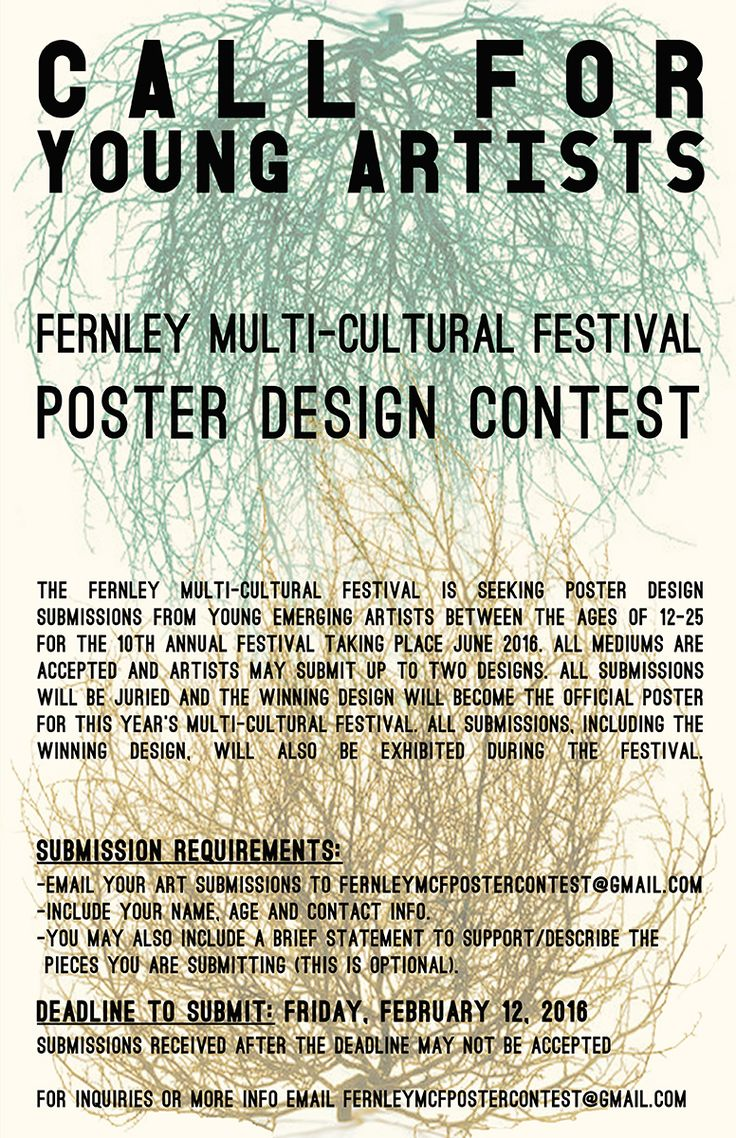 Poster design requirements - Call To Artists Info The Fernley Multi Cultural Festival Is Seeking Poster Design Submissions From