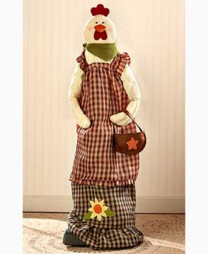 Vacuum-Cleaner-Cover-Upright-Country-Rustic-Primitive-Cabin-Angel-Frog-Rooster