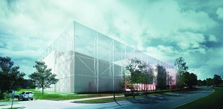 projekt hali sportowej Uniwesytetu Medycznego na Bursakach,NOV 2015