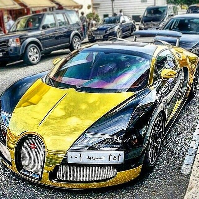 Crazy Color For This Bugatti Veyron