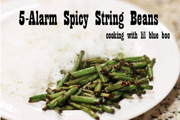 stringbeans: 5 Alarm String, Blue Boo, Fried Green Beans, Dipping Sauces, Vegetarian, Spicy Green Beans, 5 Alarm Spicy, Chili Oil, Drinks Food Snacks