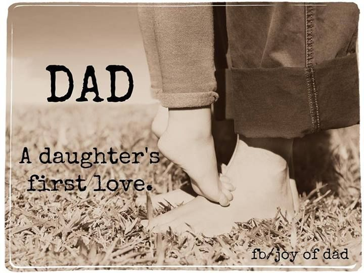 Dad a daughter's first love.. So need a picture like this before she gets older. (Canvas for sure)