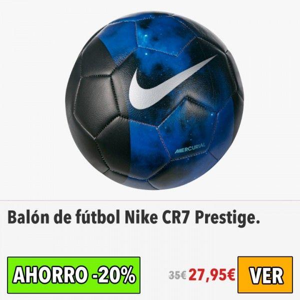 Balón de fútbol Nike CR7 Prestige. #ofertas #descuentos