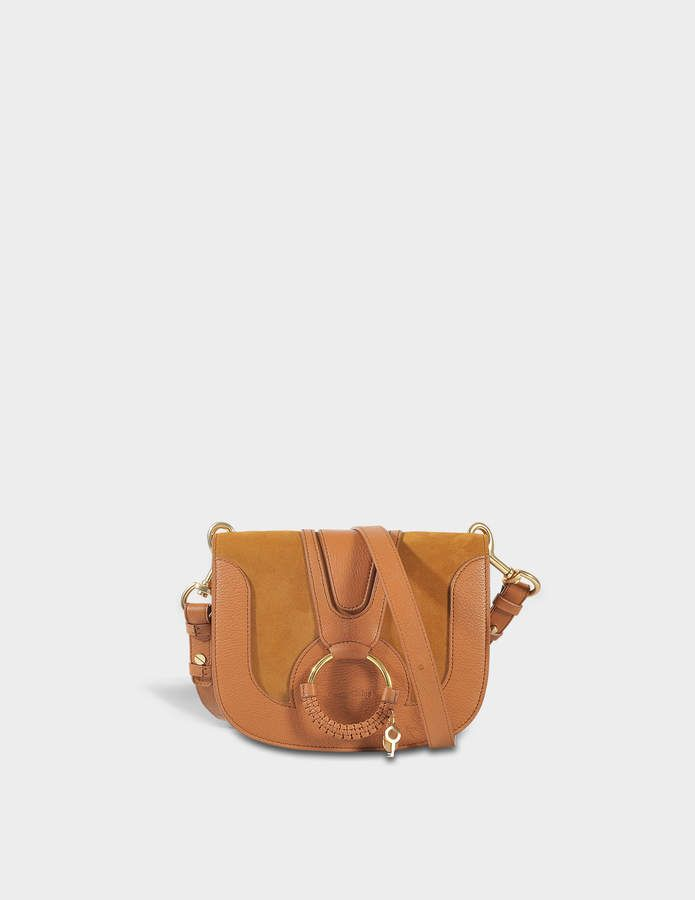 f4687e23d203 See by Chloe Hana Small Crossbody Bag in Caramelo Grained Cowskin and Suede   smallcrossbodybag