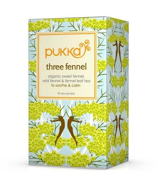 Pukka - Three Fennel Tea, 20 Bags - Goodness Me!