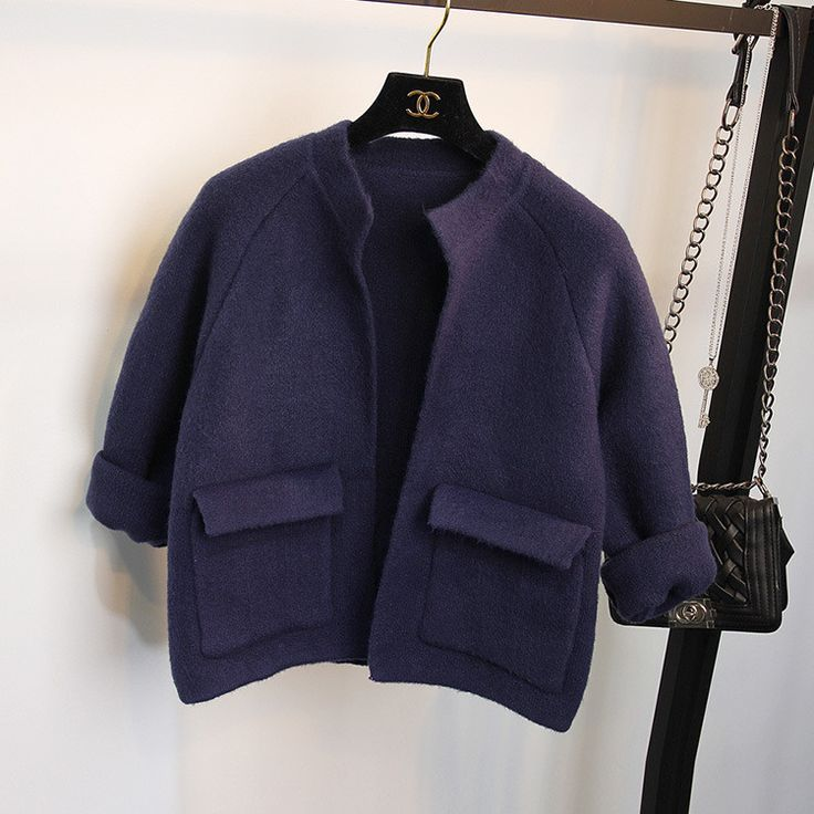 Knitting Cardigan Coat