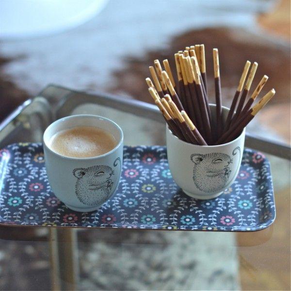 Lot De 4 Tasses Adelynn Souris Bloomingville Sweet Moments Minis    Deco Graphic.com