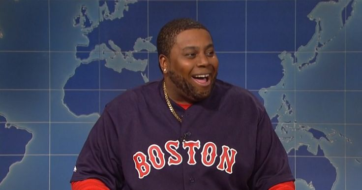 Boston Red Sox jersey worn by Kenan Thompson in SATURDAY NIGHT LIVE: EPISODE 793 (2015) @bostonredsox