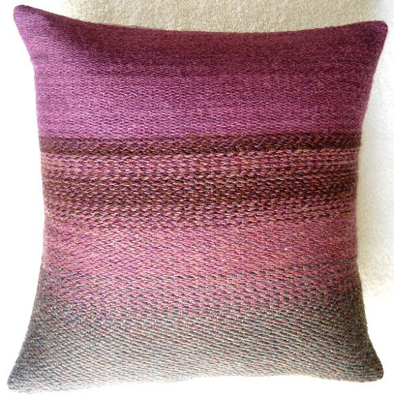 18x18 Alpaca Wool Pillow Cover By Wovenbyhand On Etsy, $70