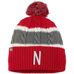 Toddler Top of the World Scarlet Nebraska Cornhuskers Windy Cuffed Knit Hat