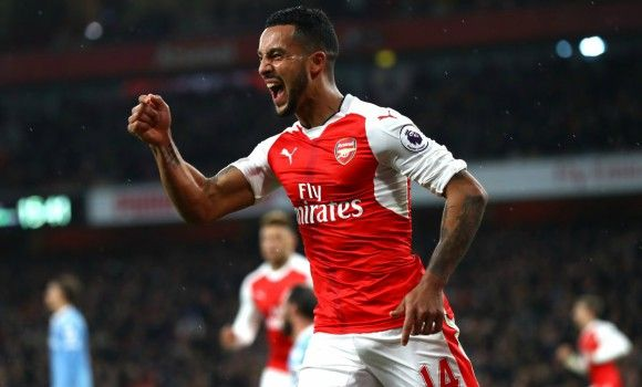 Theo Walcott is confident that Arsenal are back on the up
