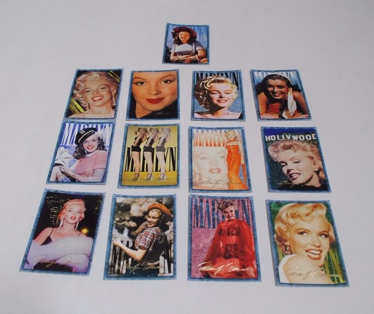 Marilyn Monroe sports time card company 1993