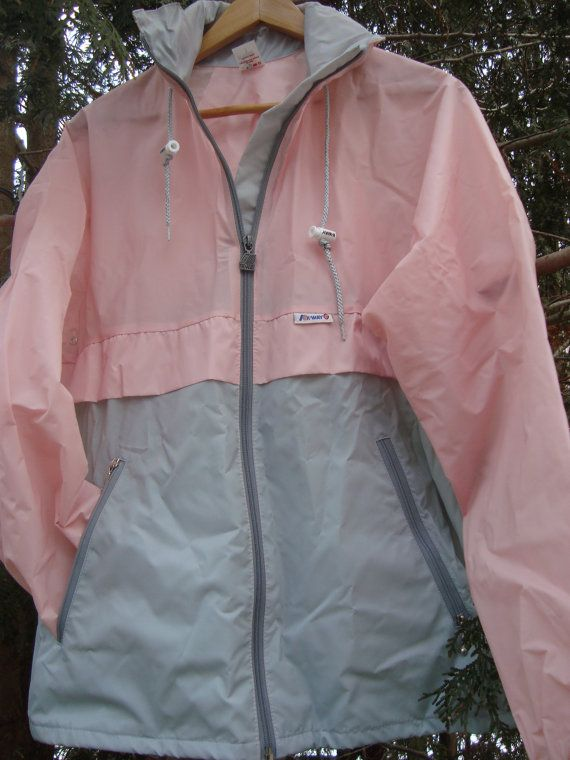 $44.00  When I think of vintage, I think of Kway. These clothing geniueses invented a windbreaker that turns into a convenient fanny pack. It was a