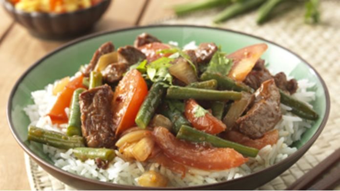 Lamsvlees met Ketjap & Sambal Badjak recept
