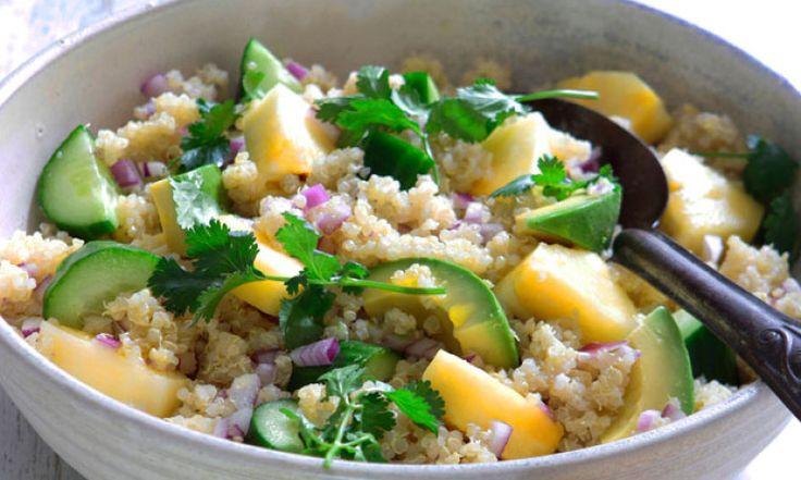 Quinoa Salad With Pineapple & Coriander