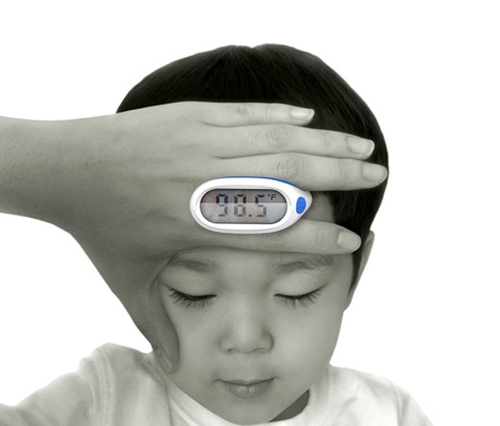 Get the 'sick or not sick' scoop with this finger thermometer! | Repinned by @drbrunogallo