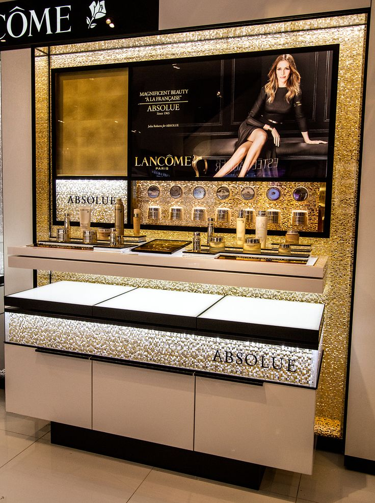 Jali Cascata Lancome display at Macy's in New York City