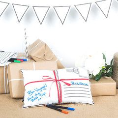 """""""Scribble It"""" Postcard Pouch 