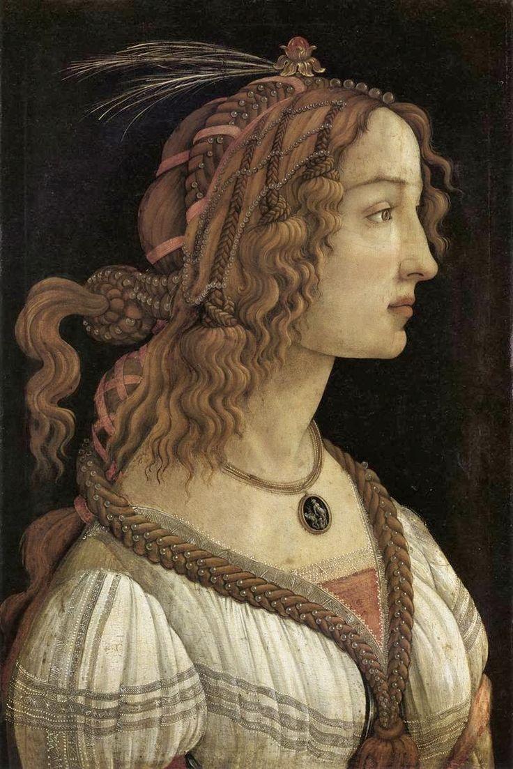 Πορτρέτο νεαρής γυναίκας (1480~85)