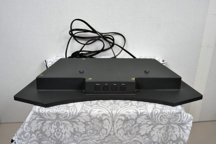 Bose PD-2 Pedestal for Acoustic Wave Stereo Music System Complete with Cords #Bose