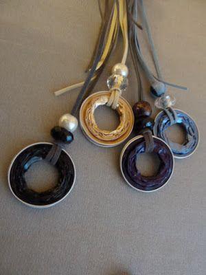 recycle-sieraden: Nespresso discs