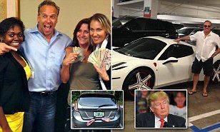 EXCLUSIVE: Meet the 'number one trainer' at Trump University - a convicted felon who is STILL promising he can make you rich if you just hand over $35,000 (and do some push-ups!)