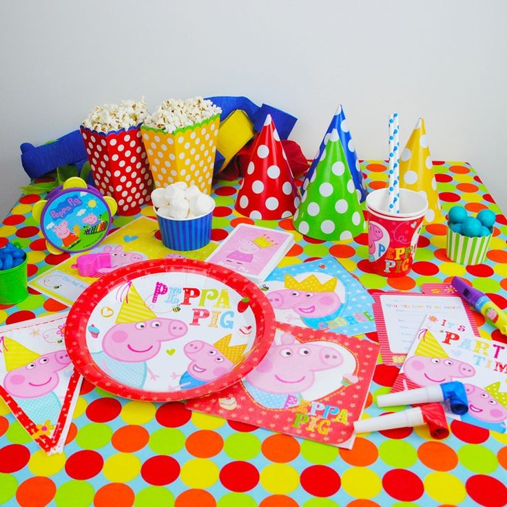 Peppa Pig Party available from our store http://www.thepartycupboard.com.au/party-characters/peppa-pig-party.html