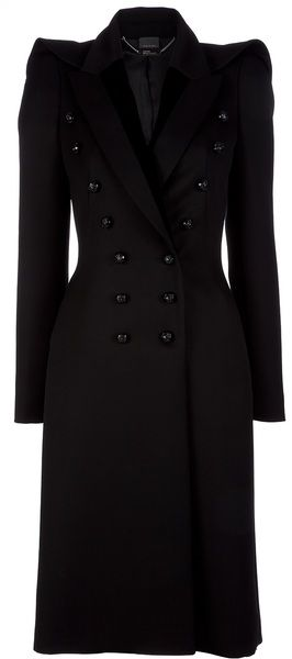 ALEXANDER MCQUEEN Military Coat   dressmesweetiedarling