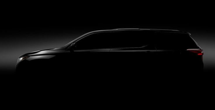 Chevrolet to unveil second generation of Traverse at 2017 Detroit Auto Show
