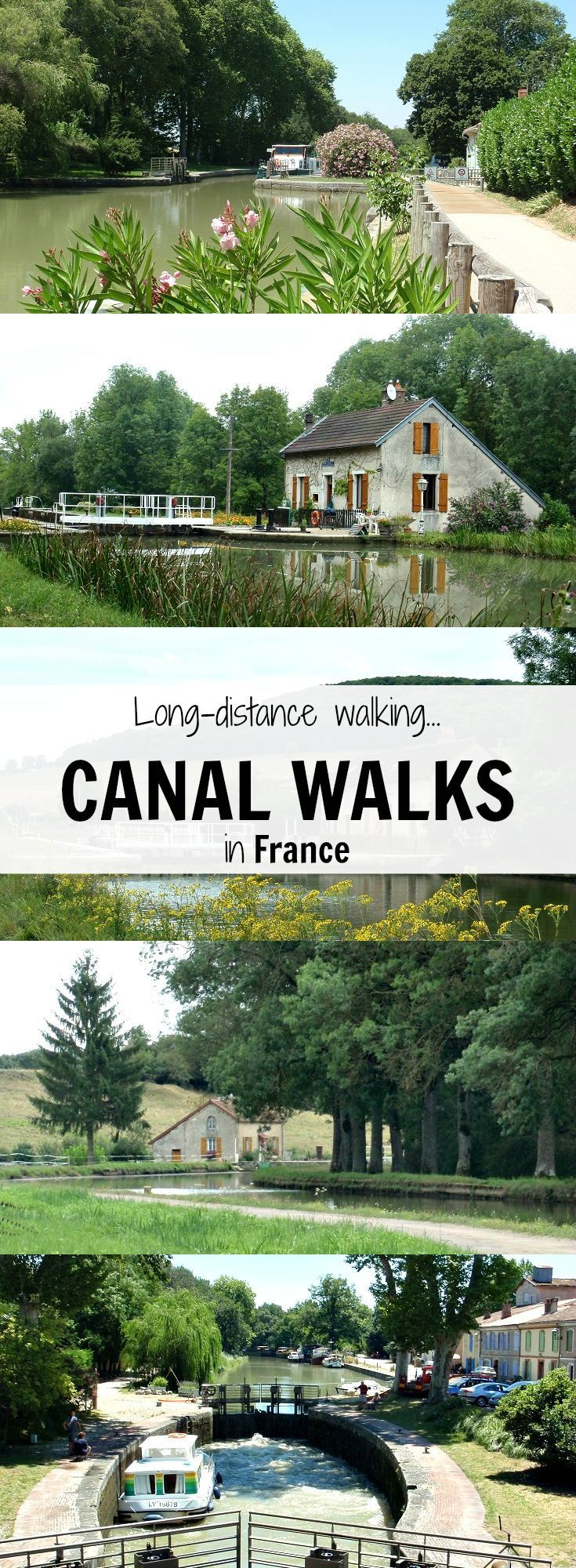 Discover the canals of France on a long-distance walk
