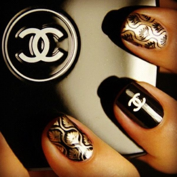 (done in new #Chanel Nail color collection) by Boglárka