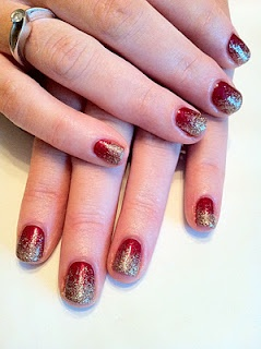 116 best cnd shellac images on pinterest shellac nail art cnd shellac nail art red baroness and gosh gold nail glitter fade prinsesfo Image collections