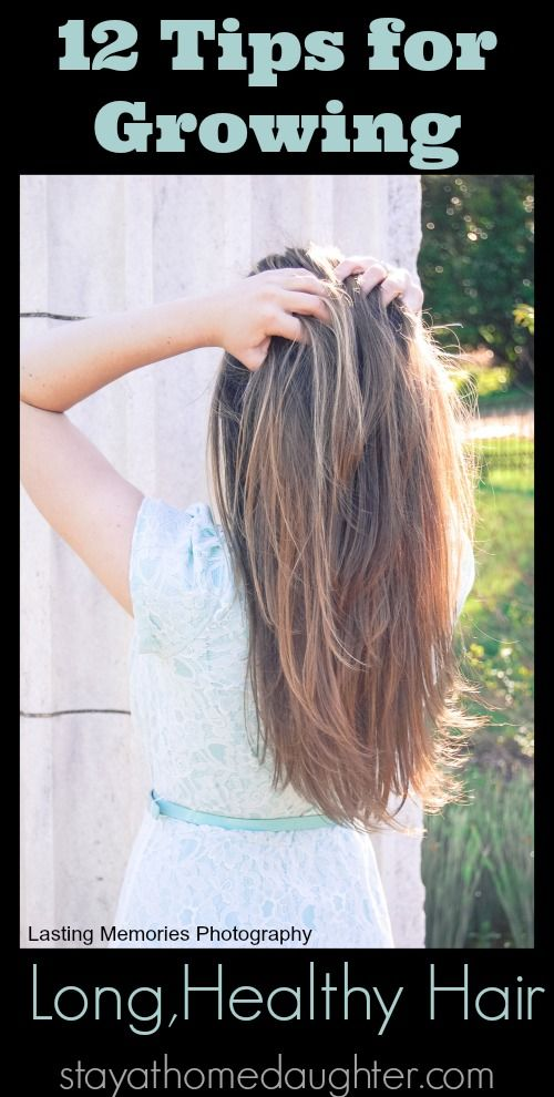12 Tips For Growing Long, Healthy Hair. Great advice on this! I am bad with my over use of heat products for sure :(