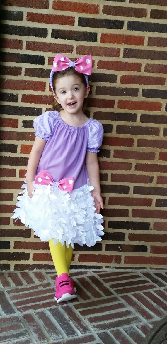 Daisy Duck Inspired Costume Birthday Outfit Infant Halloween