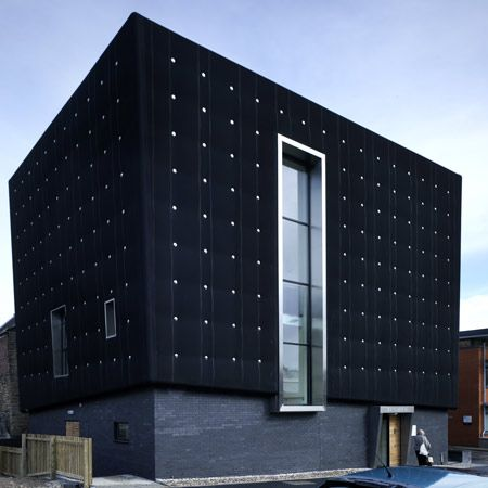 The University of Sheffield's state-of-the-art music practice and studio facility, the Soundhouse, is now complete. The striking development, conceptually designed by careyjones architects and delivered by Jefferson Sheard Architects, is completely enveloped in black rubber – a technique never seen before in the UK.