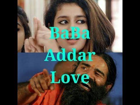 Priya Prakash Varrier And BaBa Ramdev | BaBa Adar Love