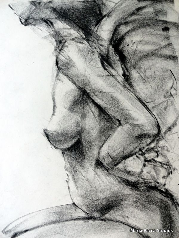 Abstract Charcoal Artists | Maria Pacca,landscapes,abstract art,figure drawings,charcoal,life ...