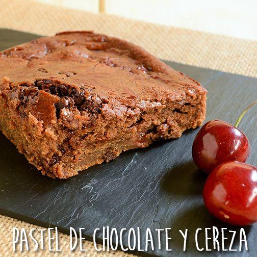 Receta de pastel de chocolate y cerezas