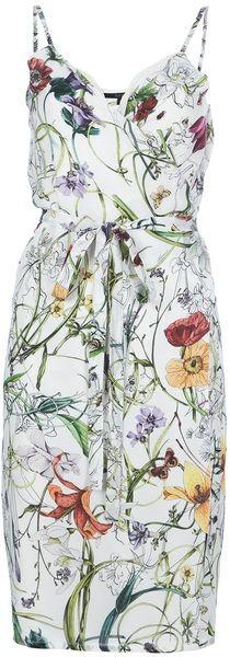 Gucci Floral Print Dress