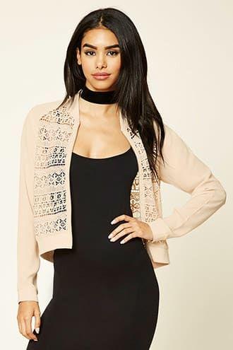 Crochet Zip-Up Jacket Jetzt bestellen unter: https://mode.ladendirekt.de/damen/bekleidung/jacken/sonstige-jacken/?uid=f3032f27-aba2-52ef-9f41-e56482a6591f&utm_source=pinterest&utm_medium=pin&utm_campaign=boards #women's #accessories #clothing #outerwear #sonstigejacken #bekleidung #jacken