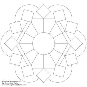 509 best **Mandala Templates** images on Pinterest | Adult ...