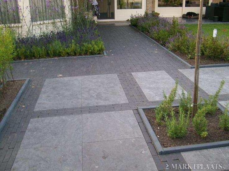 Tuin idee n bestrating pinterest tuin - Voorbeeld terras ...